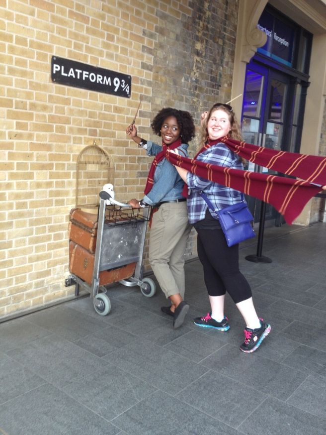 Leaving London for Hogwarts