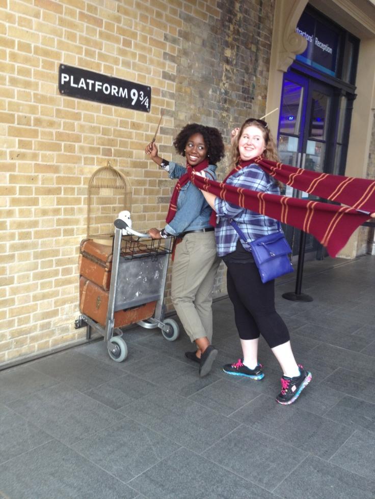 Leaving London for Hogwarts