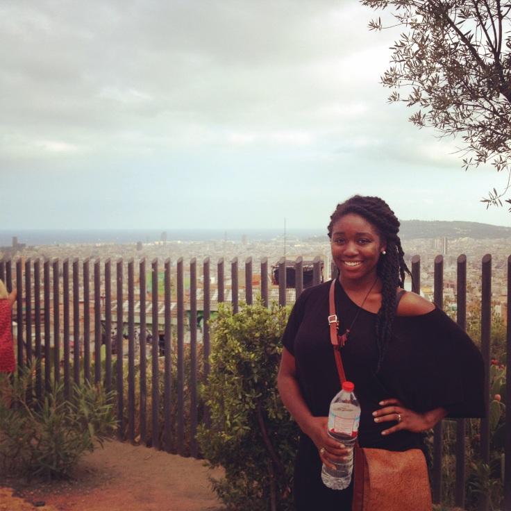 City view in the Parc de Guille